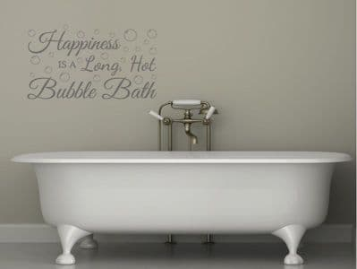 Bathroom Wall Quote