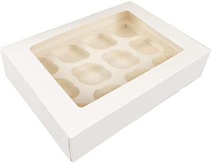 12 cavity Cup cake  Window Cupcake Boxes