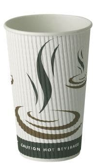 16OZ WEAVE HOT DRINK PAPER CUP