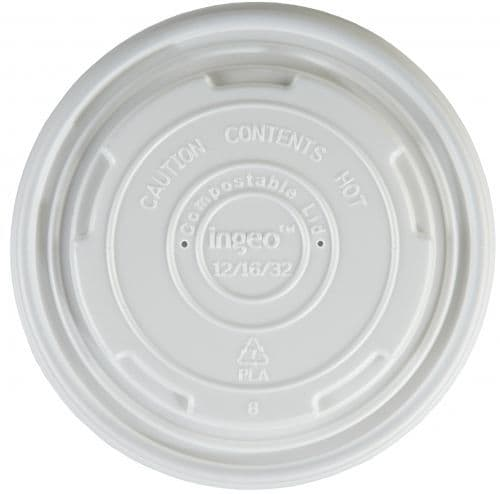 Large Bio-degradable lids to fit 12 and 16oz soup containers
