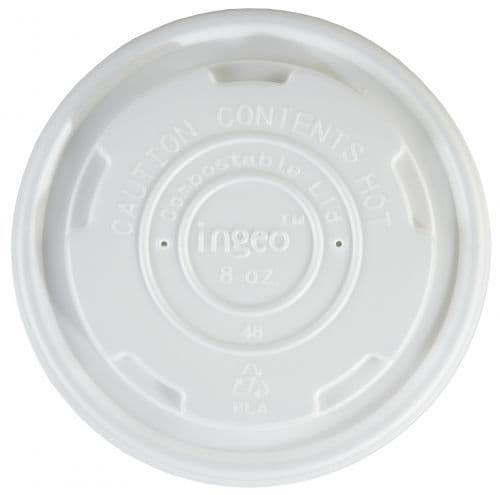 Small Biodegradable lids to fit 8oz soup containers