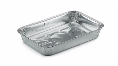 SMALL Foil Tray bake containers 190x126x26mm