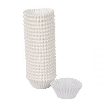 White Petit Four Cases - 30x19x40mm