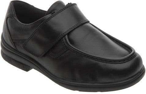 Cosyfeet FY Extra Roomy (3H Fitting) Mason Leather Touch-Fastening Shoe