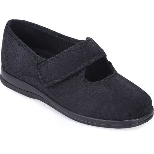 Cosyfeet G2 Extra Roomy (6E Fitting) Skye Fabric Touch-Fastening Shoe
