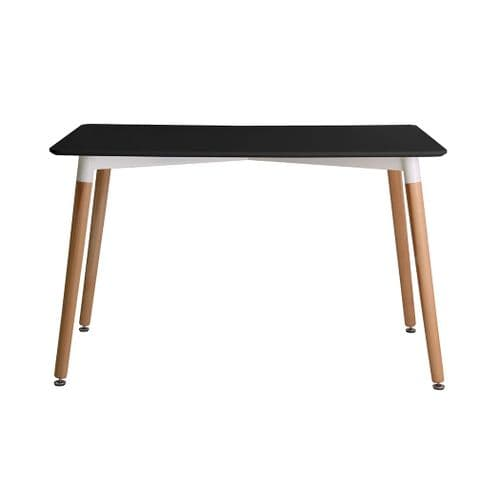 AXE DT Dining Table (Black)   &  4 Chair