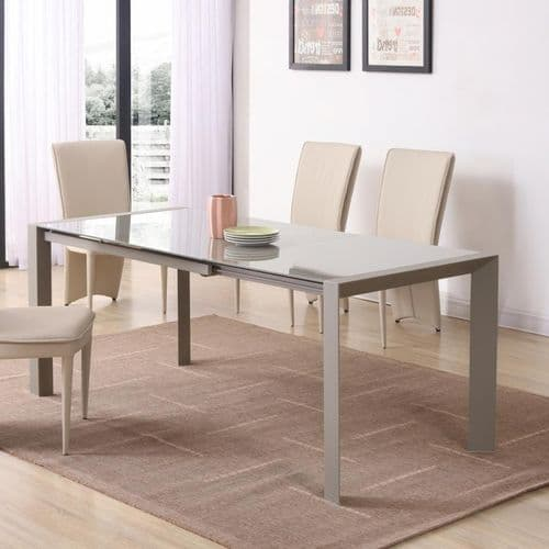 JP DT 5005 Cream Dining table 120/180cm(Medium) & JP CH 660  Chairs From Jesse  plana