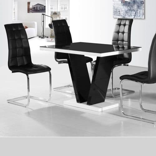 JP DT101 Dining table & JP CH250 Chairs By Jesse plana