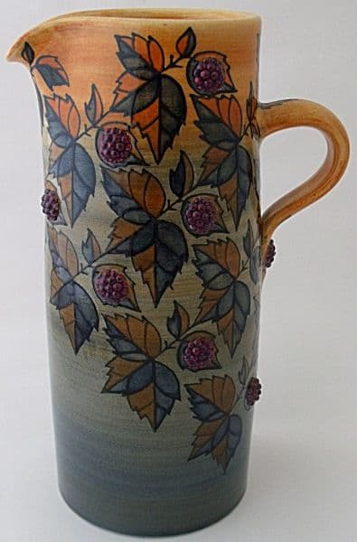 Dennis Chinaworks Blackberry Jug Designed By Sally Tuffin