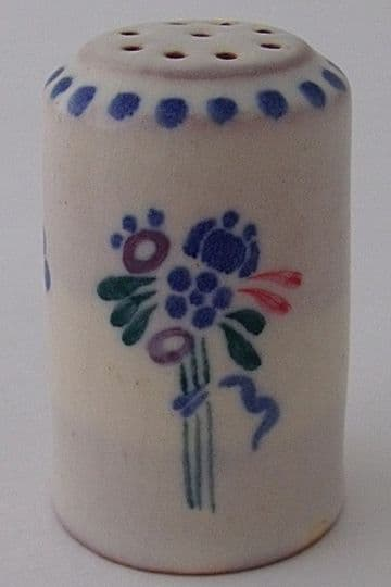 Early Poole Pottery Pepper Pot