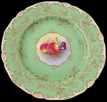 Royal Worcester Fruit Painted Plate By Harry Ayrton