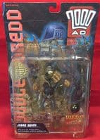2000AD Collector Series - Judge Dredd: Judge Death - Action Figure - Sealed on Card