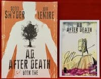 A.D. After Death - Book One - Plus Bookplate Signed by Artist Jeff Lemire