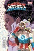 All-New Captain America #5 - Women of Marvel Variant Cover