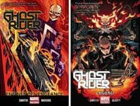 All-New Ghost Rider - Volumes 1 & 2 - Engines of Vengeance & Legend - TPBs/Graphic Novels