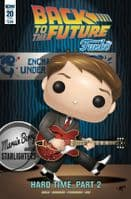 Back To The Future #20 - Funko Pop Universe Variant Cover