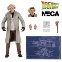 Back To The Future: Doc Brown (1955) - Ultimate Action Figure