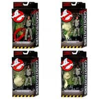 "Classic Ghostbusters - Full Set of Four 6"" Action Figures"