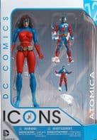 DC Comics Icons Action Figure: Atomica (Forever Evil)