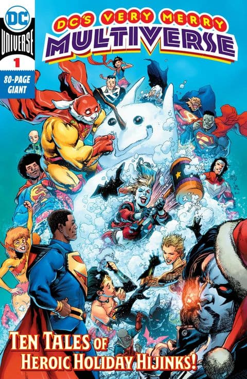 DC's Very Merry Multiverse #1 - One-Shot - FIRST APPEARANCE OF KID QUICK!