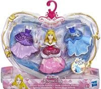 Disney Princess Royal Clips: Sleeping Beauty Aurora's Sparkle Fashions Set