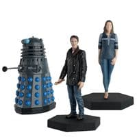 Doctor Who Figurine Collection Drama Set: The Eighth Doctor, Liv Chenka & Dalek