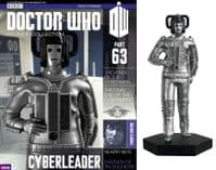 Doctor Who Figurine Collection Part 63: Cyberleader