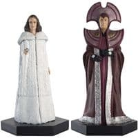 Doctor Who Figurine Collection Time Lord Series: Borusa & Romana