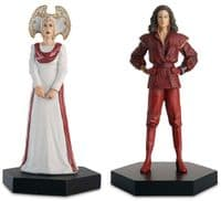 Doctor Who Figurine Collection Time Lord Series: The Inquisitor & The Rani