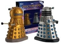Doctor Who Figurine Collection Time Lord Victorious: Dalek Drone & Dalek Emperor