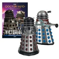 Doctor Who Figurine Collection Time Lord Victorious: Dalek Executioner & Dalek Strategist