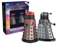 Doctor Who Figurine Collection Time Lord Victorious: Dalek Scientist & Dalek Time Commander