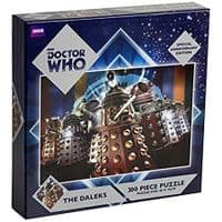 Doctor Who: The Daleks - 300 Piece Jigsaw Puzzle - Special Anniversary Edition