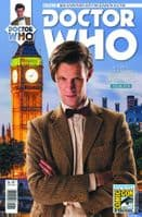 Doctor Who The Eleventh Doctor Adventures #14 - SDCC 2015 Exclusive Variant Cover