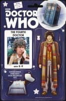 Doctor Who The Fourth Doctor #1 to 5 - Full Set of 5 Comics - Action Figure Variants!