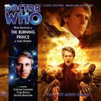 Doctor Who The Monthly Adventures 165: The Burning Prince - Audio CD