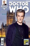 Doctor Who The Twelfth Doctor Adventures #10 - SDCC 2015 Exclusive Variant Cover
