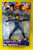 Fantastic Four Movie: Mr Fantastic With Spring Attack Action (DAMAGED PACKAGING)