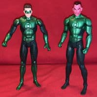 Green Lantern Movie Masters: Hal Jordan & Sinestro - Loose Action Figure