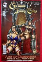 Grimm Fairy Tales: Giant-Size 2014 - 'Age of Darkness Realms Fall Part Three' - Cover C