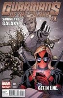 Guardians of the Galaxy (Marvel NOW!) #1 - Texts From Deadpool Variant Cover