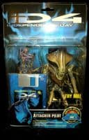 ID4 Independence Day: Alien Attacker Pilot - Carded Figure