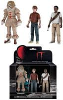 IT - Set 3: Pennywise with Wig, Stan and Mike - ReAction Figure 3-Pack