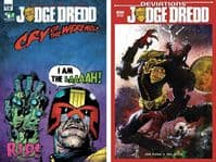 Judge Dredd: Cry of the Werewolf AND Deviations - 2 x One-Shots