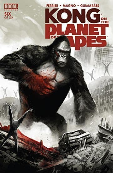 Kong on the Planet of the Apes #6 (of 6)