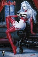 Lady death: Malevolent Decimation #2 (of 2) - Naughty Cover Variant
