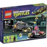 Lego 79102 Teenage Mutant Ninja Turtles: Stealth Shell in Pursuit - RETIRED