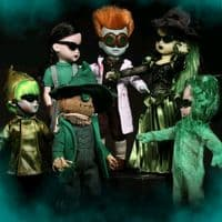 Living Dead Dolls: Lost In Oz - Exclusive Emerald Variant Set