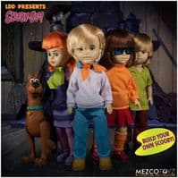 Living Dead Dolls Presents: Scooby Doo - Full Set of 4 Dolls Plus Buildable Scooby