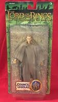 Lord of the Rings Fellowship of the Ring: Council Legolas - Action Figure Sealed